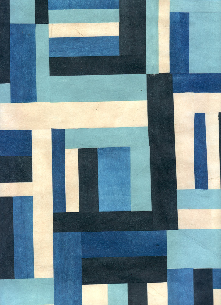 Blue Quilt Wall