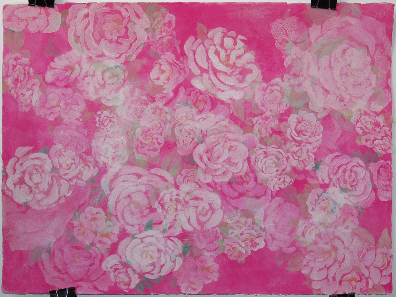 white-and-pink-flowers-on-paper