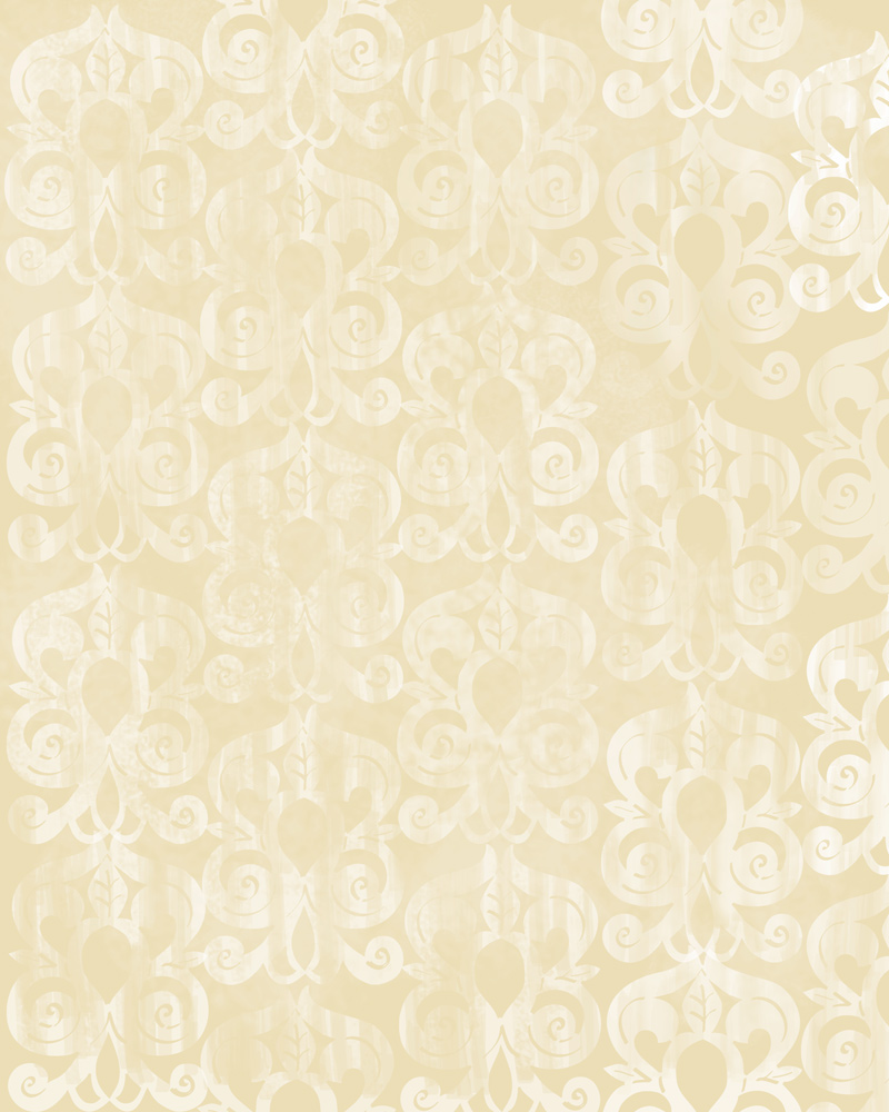 Applique Morrocan inspired wallpaper