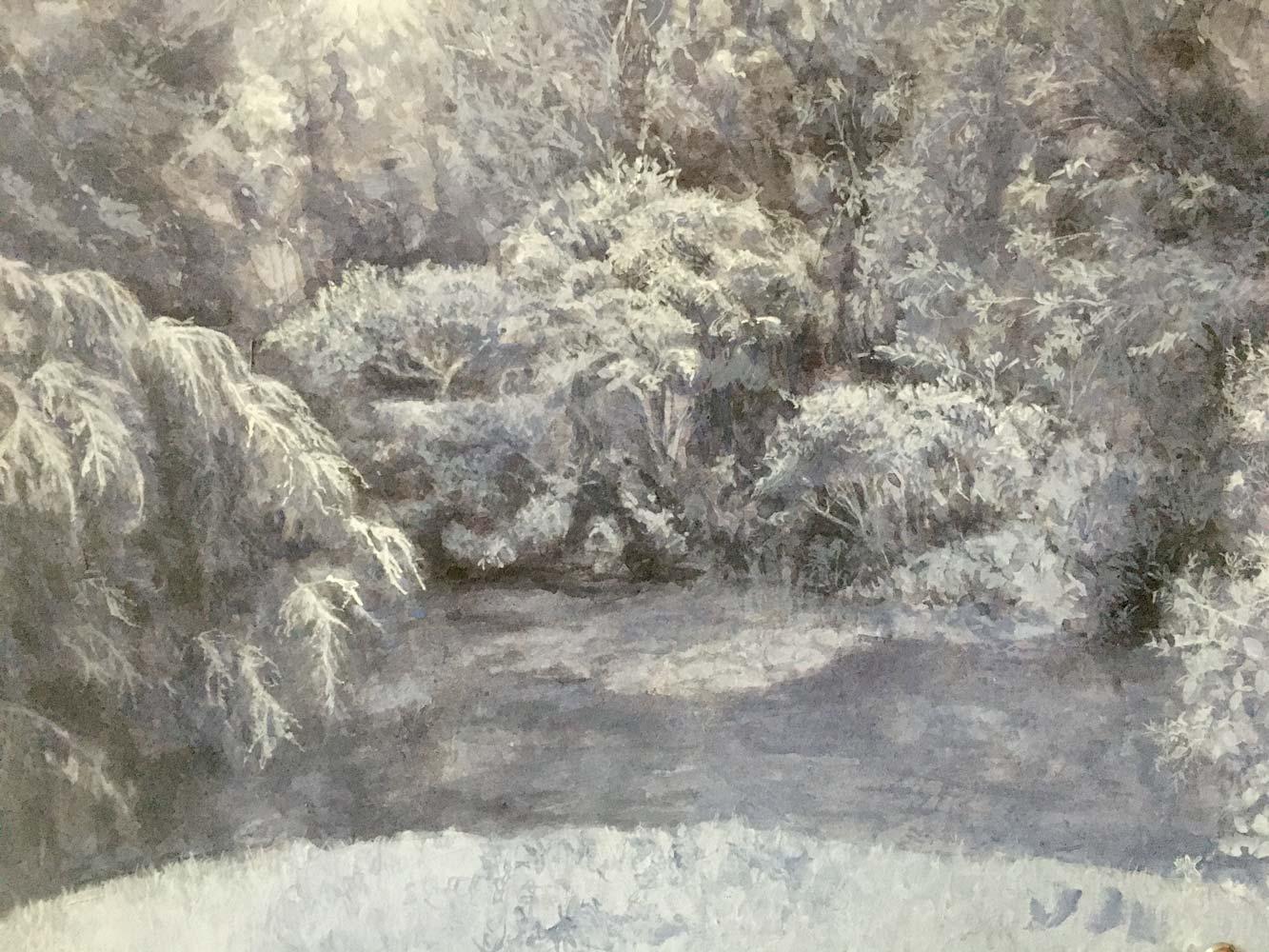 Monochromatic Landscape